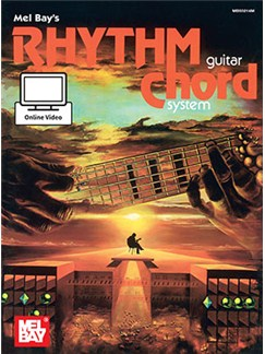 Mel Bay's Rhythm Guitar Chord System (Book/Online Video) Books and Digital Audio | Guitar