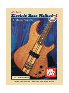 Electric Bass Method - Volume 1 (Book and CD) Books and CDs | Bass Guitar