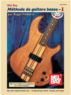 Electric Bass Method Volume 1, French Edition Books and CDs | Bass Guitar