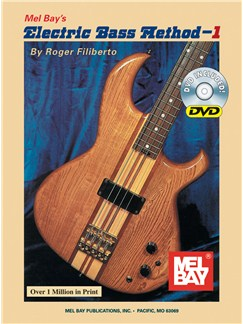 Electric Bass Method - Volume 1 (Book and DVD) Books and DVDs / Videos | Bass Guitar