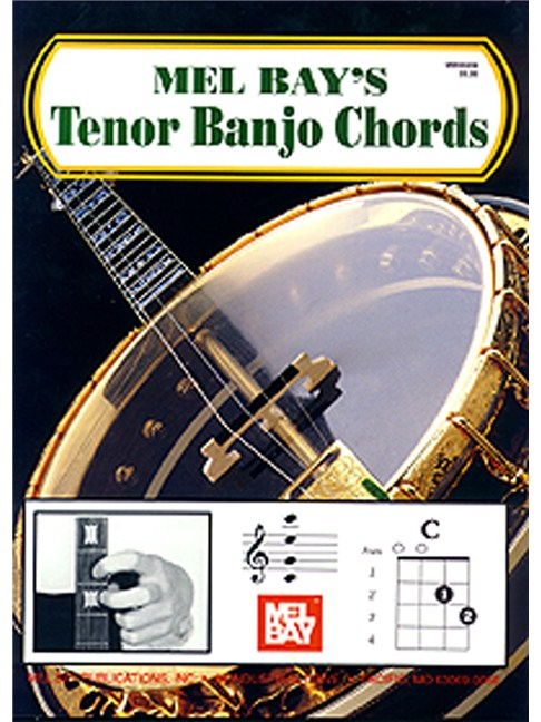 Mel Bay Tenor Banjo Chords Banjo Books Tuition Musicroom