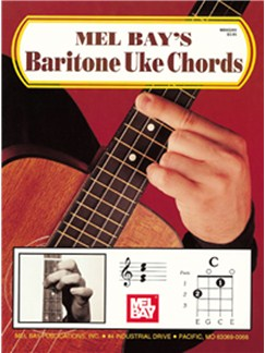 Mel Bay's Baritone Uke Chords Books | Baritone Ukulele