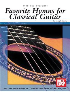 Joseph Castle: Favorite Hymns For Classical Guitar Books | Guitar, Classical Guitar