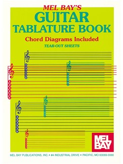 Guitar Tablature Book Books | Guitar, Guitar Tab