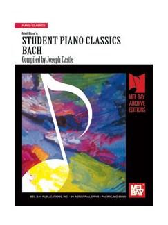 Student Piano Classics - Bach Books | Piano
