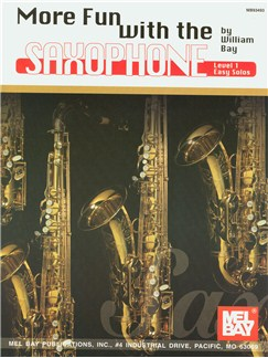 More Fun with the Saxophone Books | Saxophone