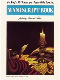 Mel Bay: Manuscript Book - 10 Staves Books |