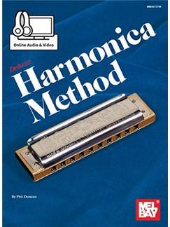 Phil Duncan: Deluxe Harmonica Method (Book/Online Media) Books and Digital Audio | Harmonica
