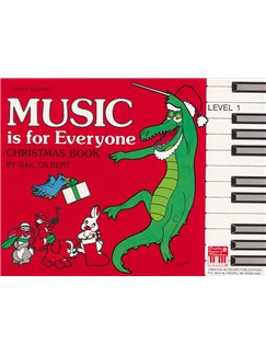 Music is for Everyone (Mife) Christmas Level 1 Books | Piano