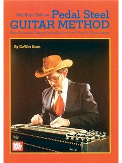 Deluxe Pedal Steel Guitar Method (Book/Online Audio) Books and Digital Audio | Pedal Steel