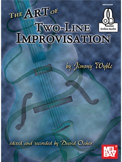 Jimmy Wyble: The Art Of Two-Line Improvisation (Book/Online Audio) Books and Digital Audio | Guitar