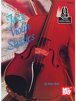Usher Abell: Jazz Violin Studies (Book/Online Audio) Books and Digital Audio | Violin