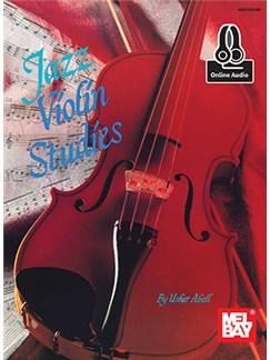 Usher Abell: Jazz Violin Studies (Book/Online Audio) Books and Digital Audio | Violin