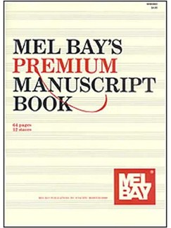 Premium Manuscript Book Books | All Instruments
