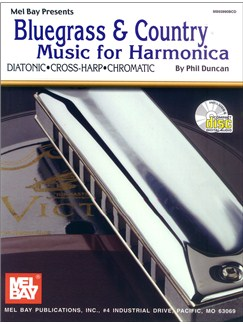 Bluegrass & Country Music for Harmonica Books and CDs | Harmonica