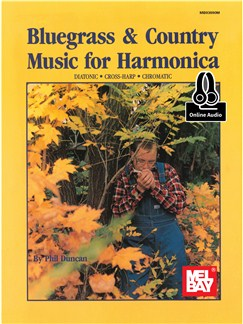 Phil Duncan: Bluegrass & Country Music For Harmonica (Book/Online Audio) Books and Digital Audio | Harmonica