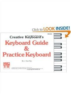 Keyboard Guide & Practice Keyboard  | Piano