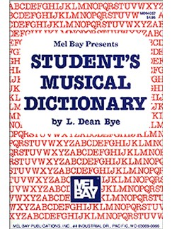 Student's Musical Dictionary Books | All Instruments