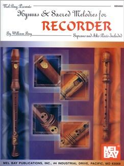 Hymns & Sacred Melodies for Recorder Books | Soprano (Descant) Recorder, Alto (Treble) Recorder