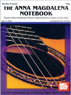 The Anna Magdalena Notebook for Classic Guitar Books | Guitar, Guitar Tab