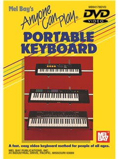 Anyone Can Play Portable Keyboard DVDs / Videos | Keyboard