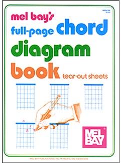 Full-Page Chord Diagram Book Books | Guitar