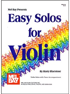 Easy Solos For Violin Books   Violin