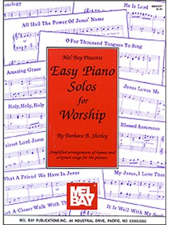 Easy Piano Solos for Worship Books | Piano