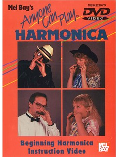 Anyone Can Play Harmonica DVDs / Videos | Harmonica