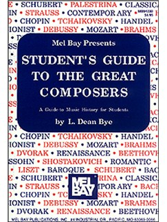 Student's Guide to the Great Composers Books | All Instruments