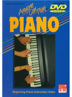 Anyone Can Play Piano DVDs / Videos | Piano