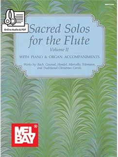Mizzy McCaskill/Dona Gilliam: Sacred Solos For The Flute - Volume 2 (Book/Online Audio) Books and Digital Audio | Flute