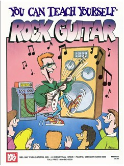 You Can Teach Yourself Rock Guitar Books, CDs and DVDs / Videos | Guitar, Guitar Tab
