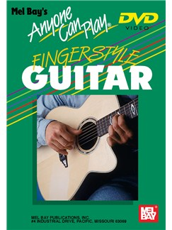 Anyone Can Play Fingerstyle Guitar Guitar (Fingerpicking) Dvd DVDs / Videos |