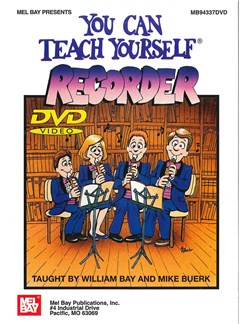 You Can Teach Yourself Recorder DVDs / Videos | Recorder