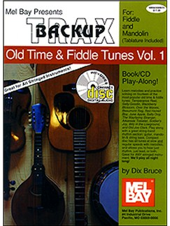 Backup Trax/Old Time & Fiddle Tunes for Fdl & Mandolin Books and CDs | String Instruments