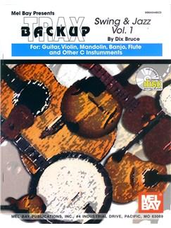 Backup Trax/S&J for Gtr,Violin,Mndln,Bnjo,Flt & C Insts Books and CDs | String Instruments