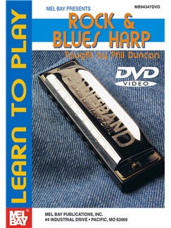 Learn To Play Rock & Blues Harp DVDs / Videos | Harmonica