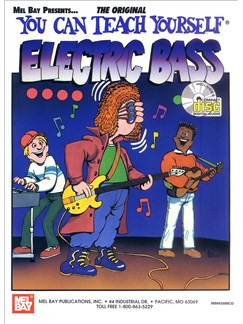 You Can Teach Yourself Electric Bass Books and CDs | Bass Guitar, Bass Guitar Tab