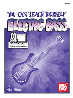 Mike Hiland: You Can Teach Yourself Electric Bass (Book/Online Audio/Video) Books and Digital Audio | Bass Guitar