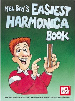 William Bay: Easiest Harmonica Book Books | Harmonica