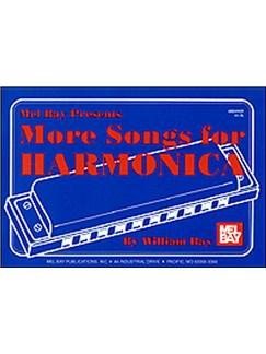 More Songs for Harmonica Books | Harmonica