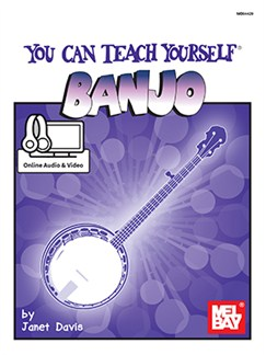 Janet Davis: You Can Teach Yourself Banjo (Book/Online Audio) Books and Digital Audio | Banjo