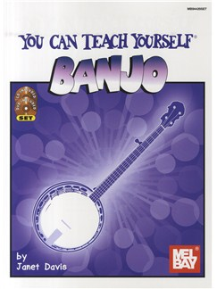 Janet Davis: You Can Teach Yourself Banjo (Book/DVD/CD) Books, CDs and DVDs / Videos | Banjo
