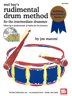 Mel Bay's Rudimental Drum Method Books and CDs | Drums