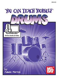 James Morton: You Can Teach Yourself Drums (Book/Online Audio/Video) Books and Digital Audio | Drums