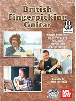 Stefan Grossman: British Fingerpicking Guitar (Book/Online Audio) Books and Digital Audio | Guitar
