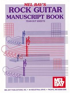 Rock Guitar Manuscript Book Books | Guitar, Guitar Tab