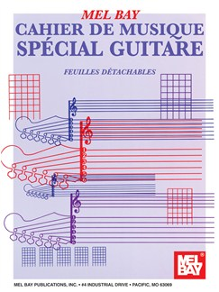 Rock Guitar Manuscript Book:  French Edition Books | Guitar, Guitar Tab