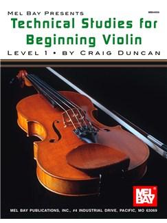 Technical Studies For Beginning Violin Books | Violin